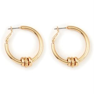 Picture of Ella Hoop Gold Earrings
